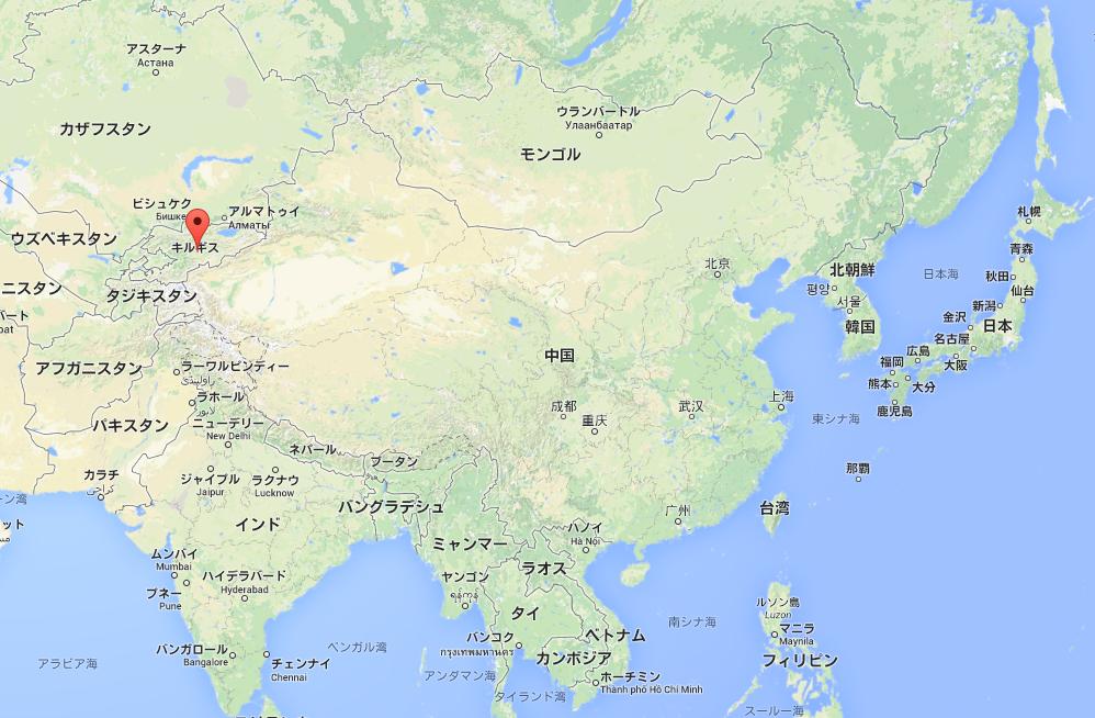 今でも存在するキルギスの誘拐 ... : アジア 地図 国名 : すべての講義